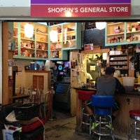 Photo taken at Shopsin's General Store by Helen L. on 7/27/2013
