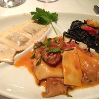 Photo taken at Il Mulino New York by Helen L. on 12/11/2012