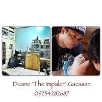 Photo taken at Impaler's Tattoo Corner by Duane G. on 4/22/2013
