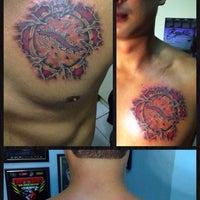 Photo taken at Impaler's Tattoo Corner by Duane G. on 11/23/2013