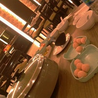 Photo taken at Makassar Suki Cafe and Resto by Hanilita on 10/11/2012