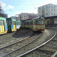 Photo taken at Pętla Ogrody by Jaroslaw R. on 3/3/2013