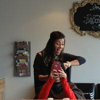 Photo taken at Bella Rey Salon by Amanda on 1/15/2013