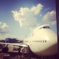 Photo taken at Concourse E by Jan van der M. on 10/26/2012