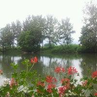 Photo taken at Splav Atos by Marina Z. on 6/29/2013