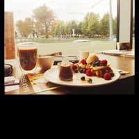 Photo taken at Max Brenner by Anastasia B. on 9/30/2014