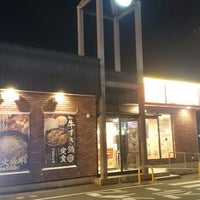 Photo taken at すき家 8号金沢福久店 by 星霊 on 10/22/2016