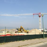 Photo taken at Cantiere Isola Artificiale MOSE by ALESSANDRO L. on 8/7/2013