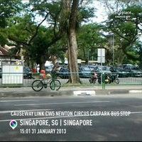 Photo taken at Causeway Link CW5 Newton Circus Carpark Bus Stop by Shaikh Taufiq A. on 1/31/2013