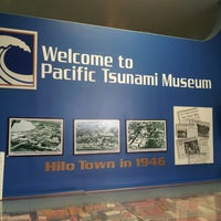 Photo taken at Pacific Tsunami Museum by Darlene B. on 6/1/2013