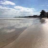 Photo taken at Spiaggia Castello by alev K. on 3/10/2018