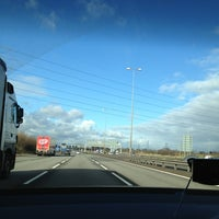 Photo taken at M6 Junction 3a / M6 Toll by Emma F. on 2/14/2013