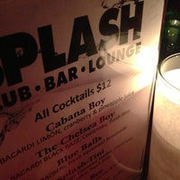 Photo taken at Splash Bar by Yahel on 1/8/2013