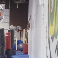 Photo taken at Dragon E's Black Belt Academy by Andi S. on 10/8/2012