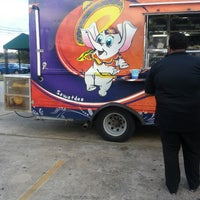 Photo taken at Houston Food Park by nicole l. on 9/8/2013