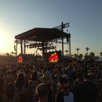 Photo taken at Coachella Outdoor Theatre by George D. on 4/13/2013