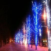 Снимок сделан в Триумф Плаза пользователем Boris* G. 12/20/2012
