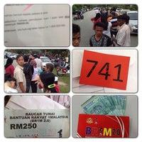 Photo taken at SMK Bandar Puchong Jaya (A) by Janice L. on 2/21/2013
