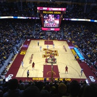 Photo taken at Williams Arena by Andy B. on 1/30/2013