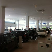 Photo taken at Volkswagen Sorana by Igor C. on 1/11/2013