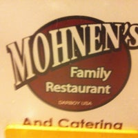 Photo taken at Mohnen's Darboy Family Restaurant by Ken W. on 1/4/2013