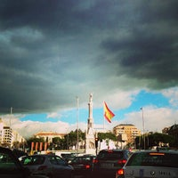 Photo taken at Plaza de Colón by LaCaprichossa (. on 2/8/2013