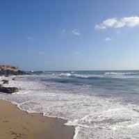 Photo taken at Municipal Beach by Дмитрий A. on 9/25/2014