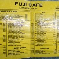 Photo taken at Fuji Cafe by Ed on 11/2/2012