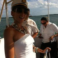 Photo taken at Brickell Place Marina by Caribbean Queen on 10/26/2013