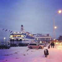Photo taken at M/S ROMANTIKA | Tallink Ferry by Janis A. on 1/12/2013