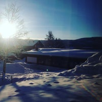 Photo taken at Geilo Hotell by Rikke A. on 3/5/2016
