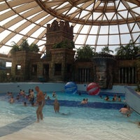 Photo taken at Aquaworld Resort & Spa by Sinem Ş. on 8/10/2013