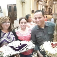 Photo taken at Iglesia San Agustín by Jhonn A. on 12/28/2015