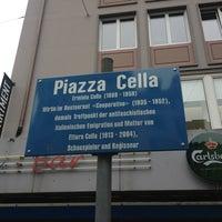 Photo taken at Piazza Cella by Mathias A. on 1/9/2013