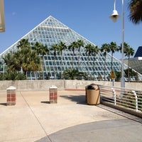 Photo taken at Moody Gardens Aquarium Pyramid by Kerem A. on 10/3/2012