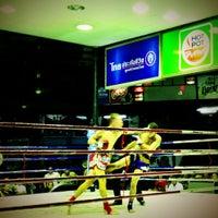Photo taken at Lumpinee Boxing Stadium by Varia on 11/20/2012