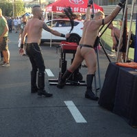 Photo taken at Off Sunset Street Festival by Vlad R. on 7/7/2014