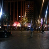 Photo taken at Santiago a Mil (Plaza de La Constitución) by Gaston on 1/12/2013