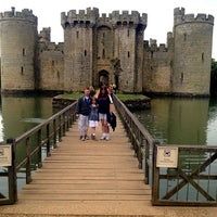 Photo taken at Bodiam Castle by Kimberley on 6/18/2013