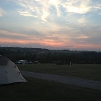 Photo taken at Salisbury Camping and Caravanning Club Site by Micaela L. on 8/27/2013