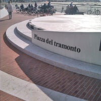 Photo taken at Piazza Del Tramonto by Milena C. on 3/30/2015