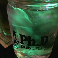 Photo taken at Ph.D Pub Chicago by Todd F. on 4/26/2014