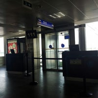 Photo taken at Gate 111 by Okan O. on 5/11/2013