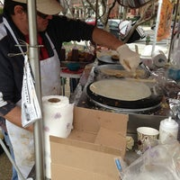 Photo taken at Crepes at the Market by Sergio on 3/31/2013