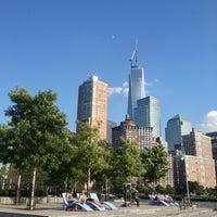 Photo taken at Pier 25 - Hudson River Park by Eduardo on 7/16/2013