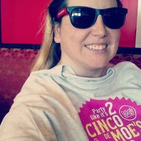 Photo taken at Moe's Southwest Grill by Lindsay K. on 5/5/2015