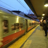 Photo taken at Bridgeport Train Station (BRP) - Metro North & Amtrak by Alex N. on 12/11/2012