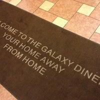 Photo taken at Galaxy Diner by Alex N. on 1/29/2013