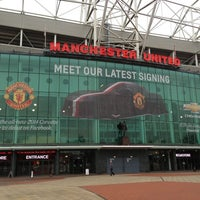 Photo taken at Old Trafford by Omar on 1/11/2013