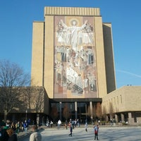 Photo taken at Notre Dame Stadium by Jess G. on 11/17/2012